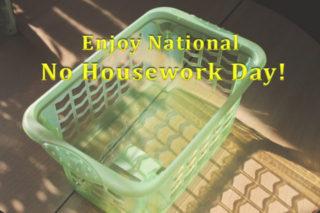 National No Housework Day, Champion Cleaners, Bonita Springs FL, Estero FL, Naples FL