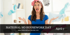 how to get housework done in a day