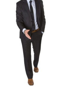 A suit that received our alterations in Naples, FL