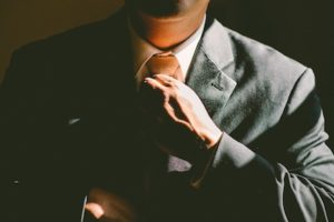 Business attire changes, Formal business attire for men