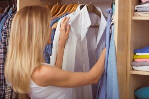 organized closet for organizing your wardrobe blog