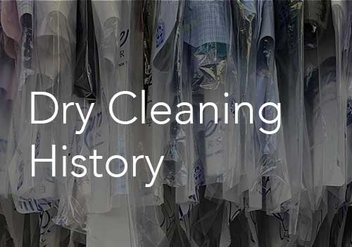 Dry Cleaning History